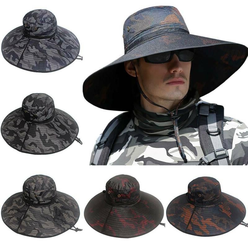 Bucket Hat Boonie Hunting Fishing Sun Cap Men Women
