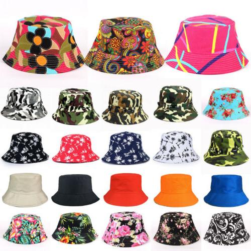 Bucket Hat Floral Boonie Flat Hunting Fishing Outdoor Summer