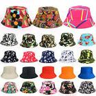 Bucket Hat Boonie Hunting Fishing Outdoor Floral Solid Cap W