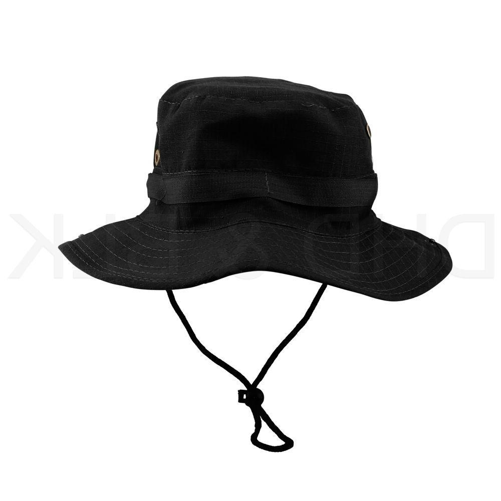 Bucket Hat Fishing Men Washed W/ STRINGS