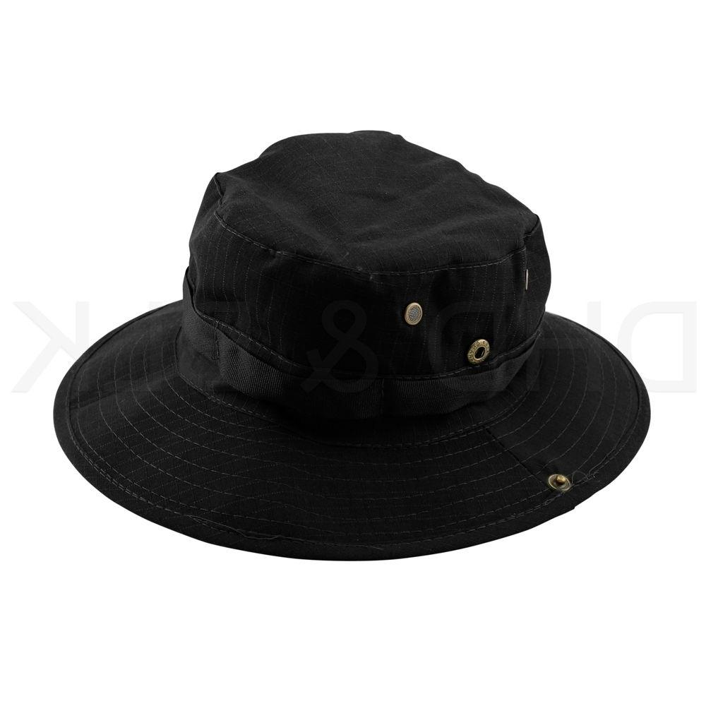 Bucket Hat Fishing Outdoor Men Cap Washed NEW STRINGS