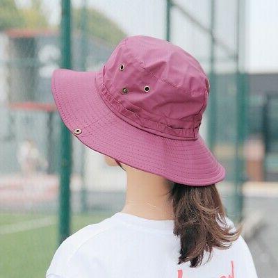 Men Women Bucket Hat Boonie Outdoor Wide Brim Cap US