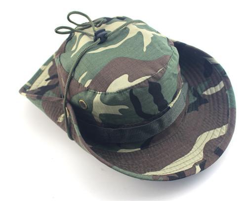 Bucket Boonie Fishing Safari Camo