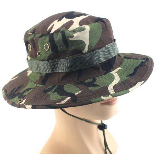 Bucket Hat Fishing Outdoor Brim Safari