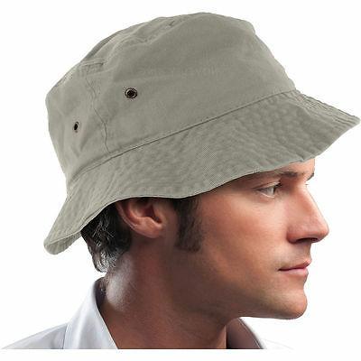 Bucket Cap Boonie 100% Cotton Military Hunting Men