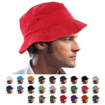 bucket hat cap boonie 100 percent cotton