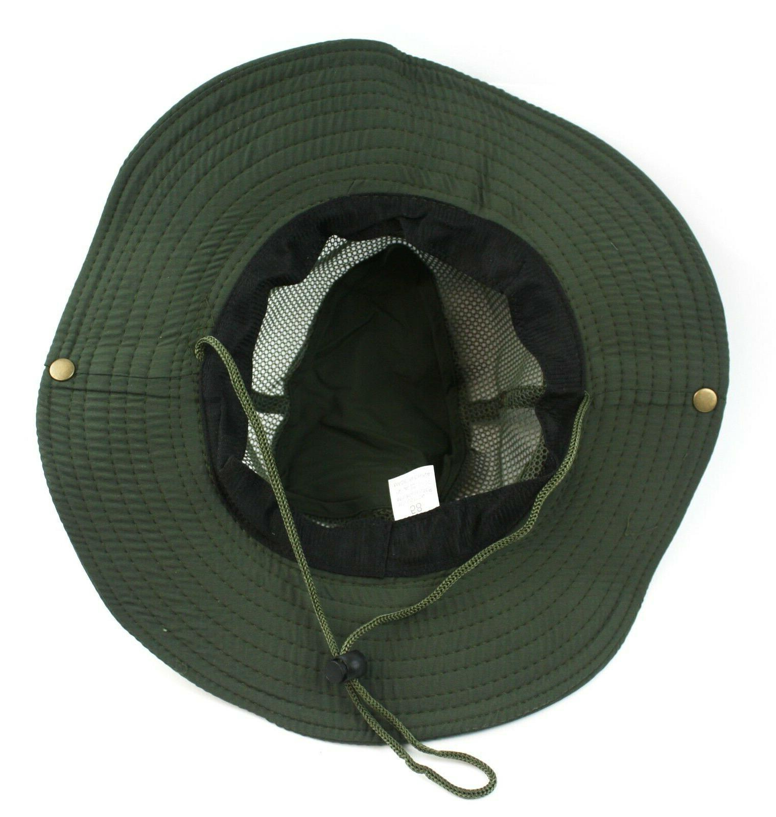 Bucket Hat Fishing Sun Safari Mesh