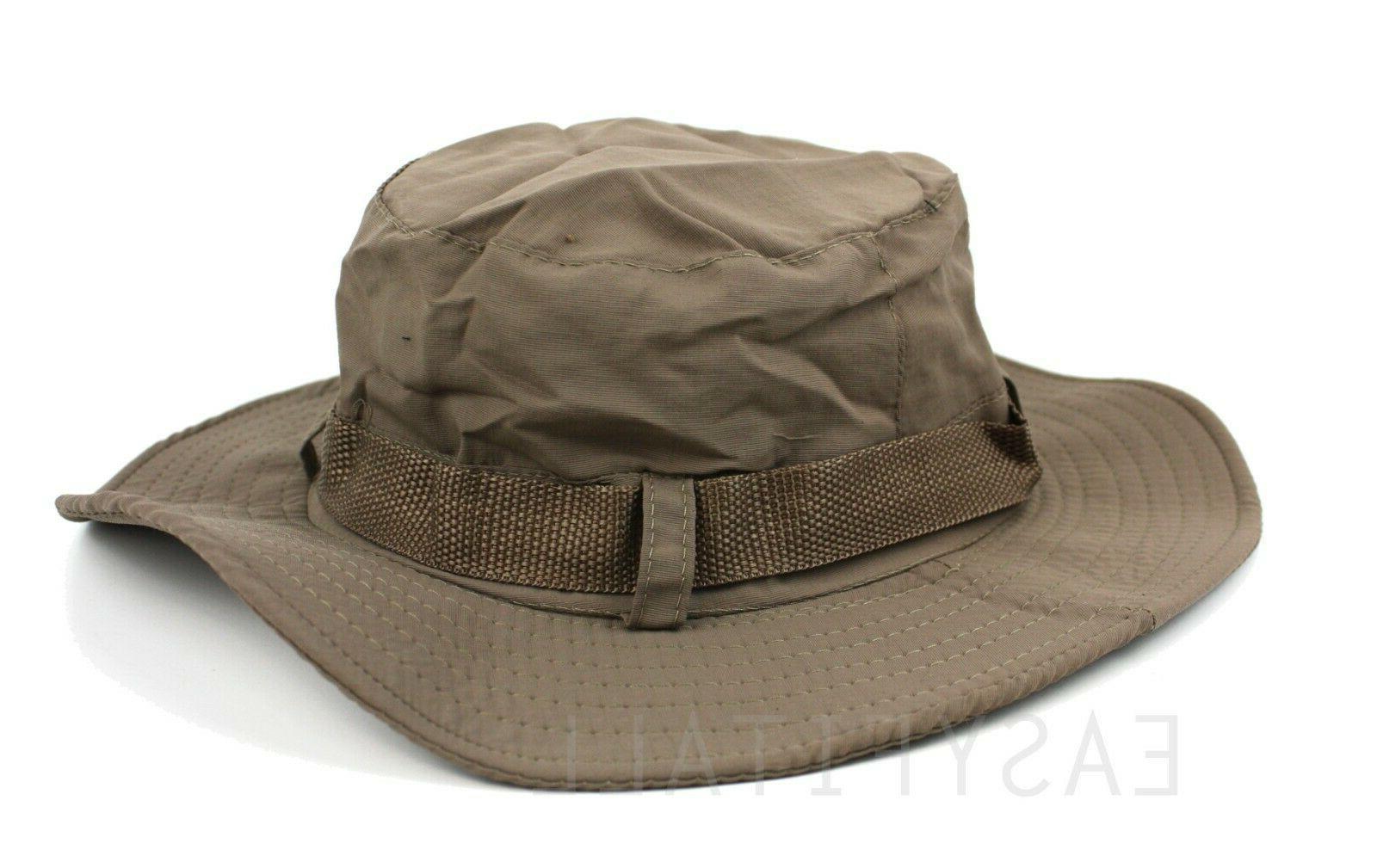 Bucket Boonie Fishing Visor Sun Safari Mesh