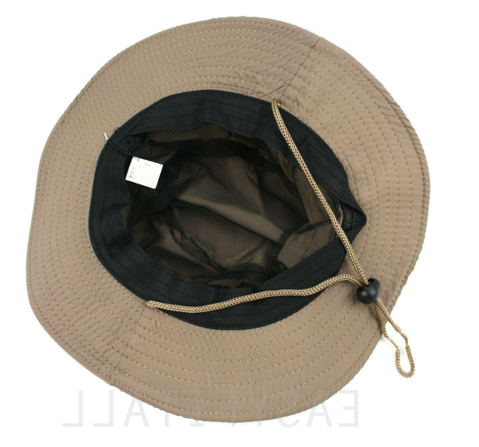 Bucket Cap Fishing Sun Mesh