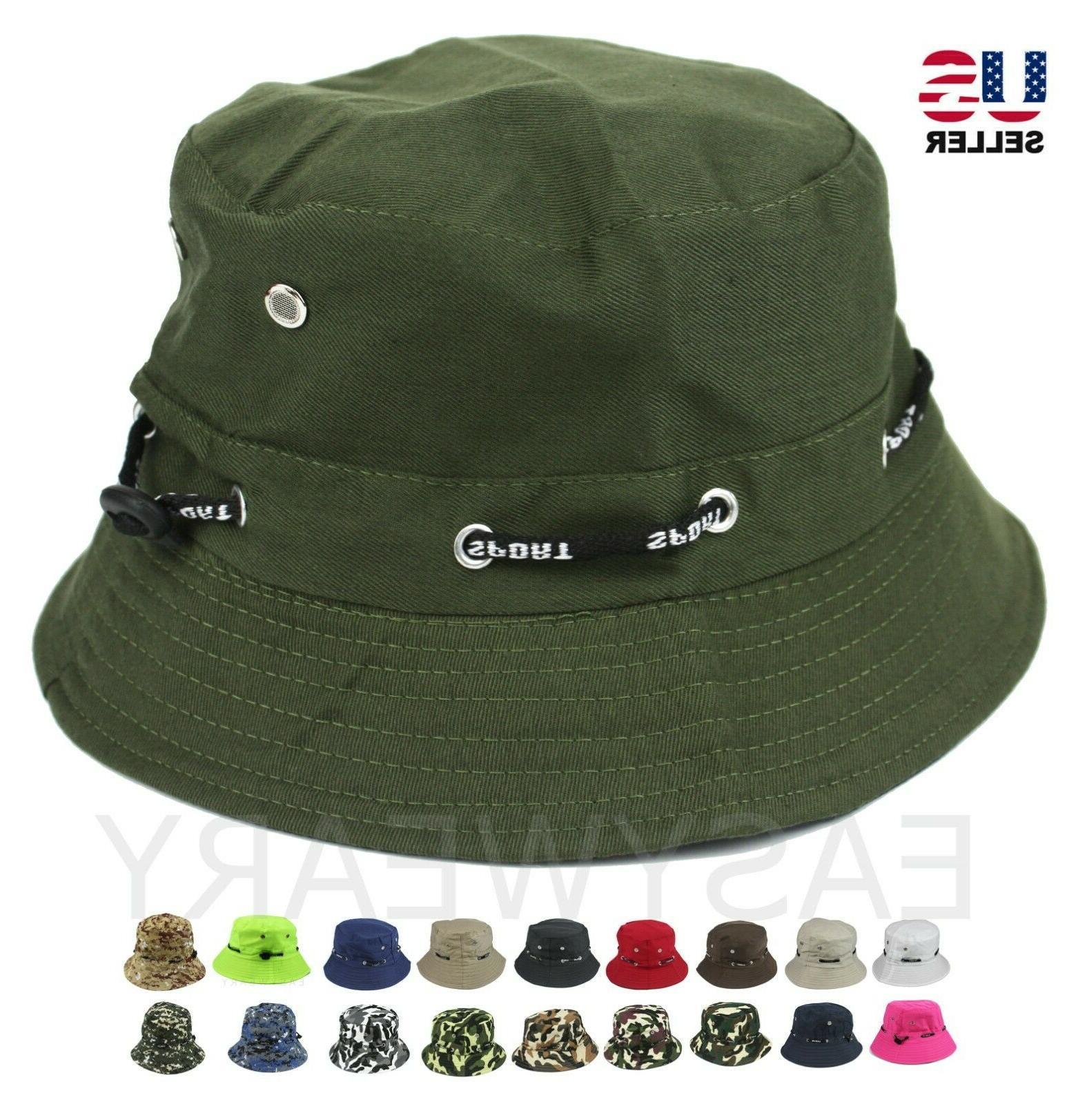 bucket hat cap sport fishing boonie brim