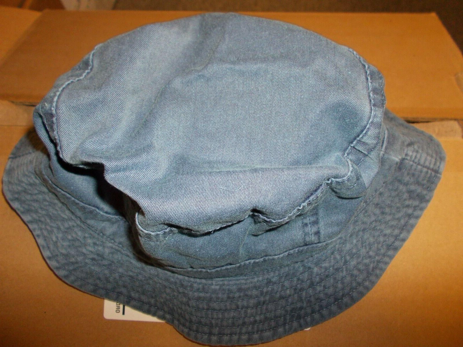 Bucket Hat Denim -- Brand Free