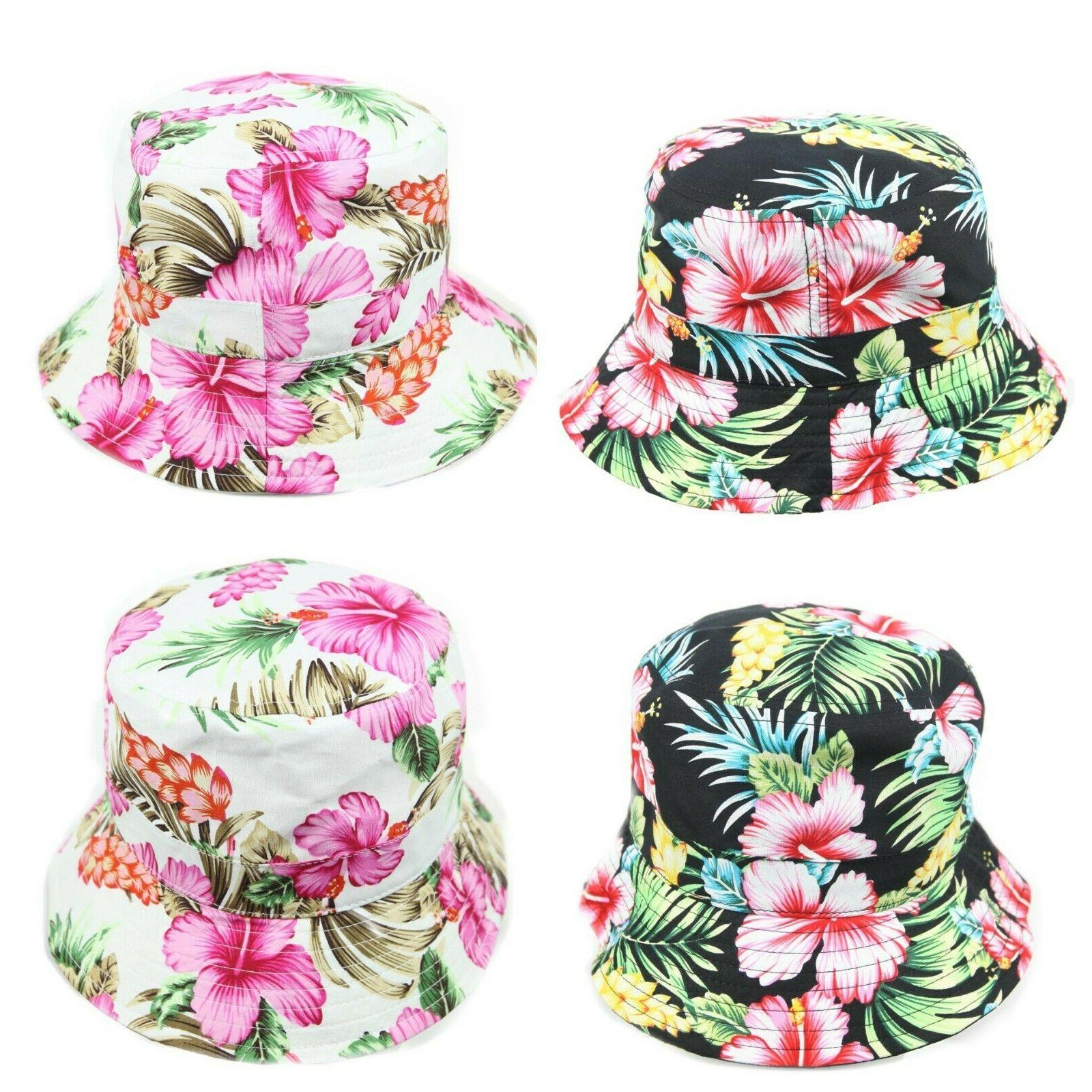Hawaiian Bucket Hats