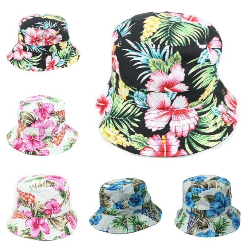bucket hat floral hats fashion cap casual