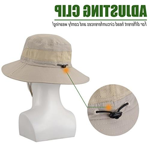 Hat UPF Sun Protection Boonie Cap for Hunting Gardening