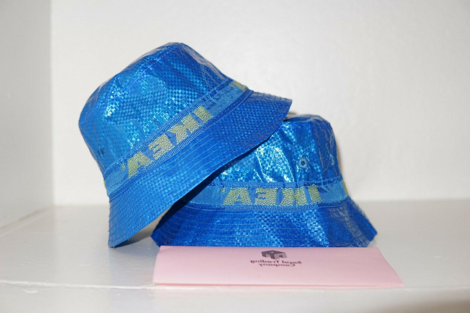 IKEA Bucket Hat KNORVA Frakta Blue Kangol Rain Fisherman Hat