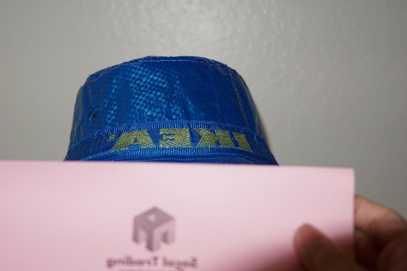 IKEA Bucket Hat KNORVA Frakta Blue Fisherman Hat New Edition