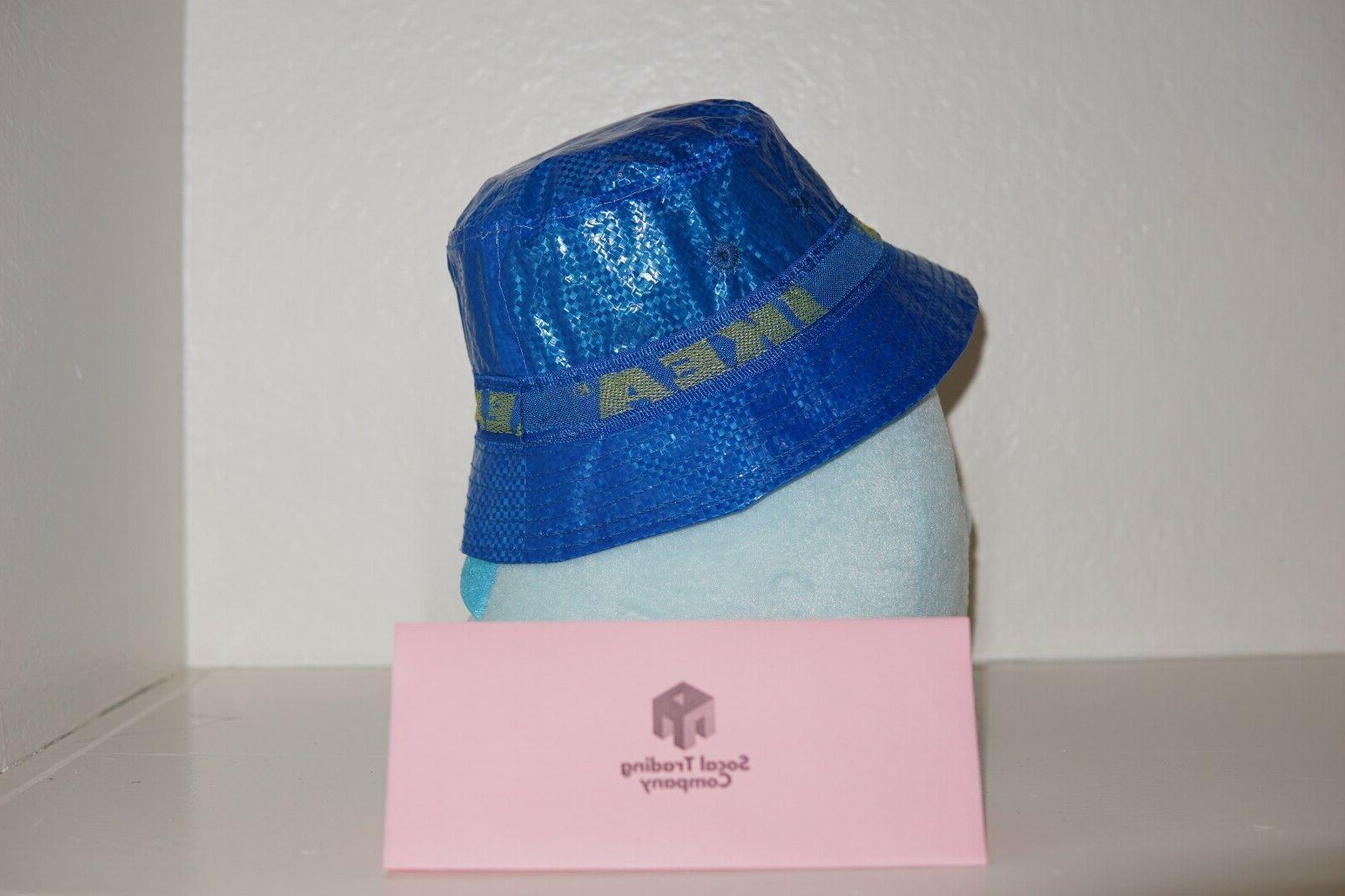 IKEA Bucket KNORVA Frakta Blue Kangol Rain Fisherman Hat Limited