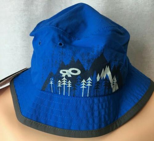 Kids Bucket Hat Sun UPF 50+ Outdoor Research Solstice Glacie