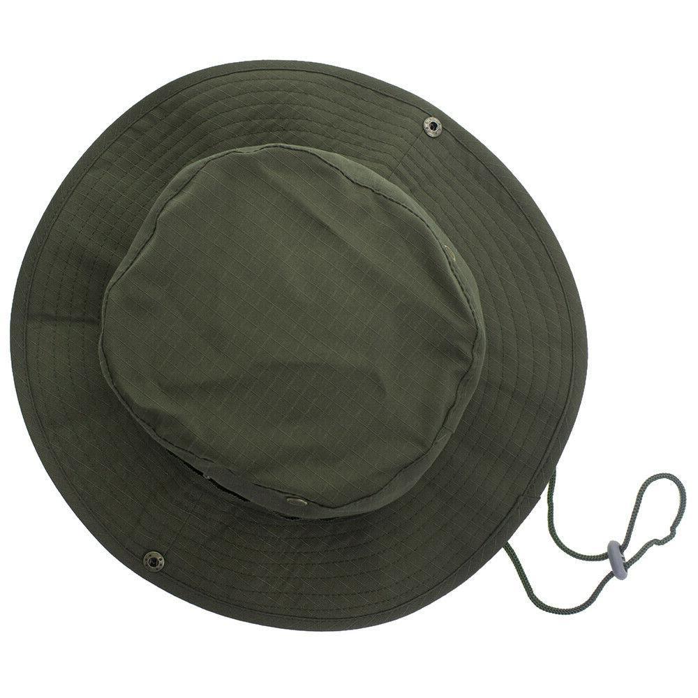 Bucket Wide Boonie Unisex Safari Cap