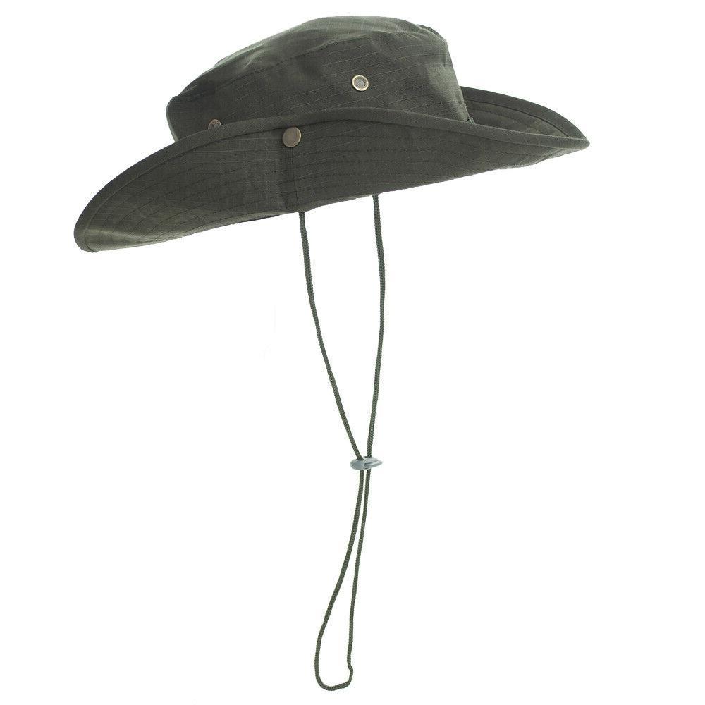 Bucket Brim Boonie Unisex Summer Safari Fishing Cap