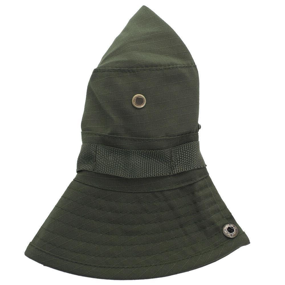 Bucket Hat Boonie Safari Fishing Cap