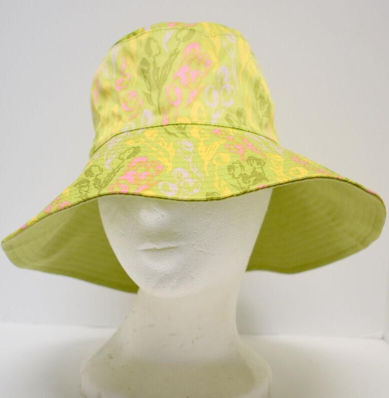 "Bucket Hat Sloggers Women Size 56cm 22"" Floppy Rim Summer Re"