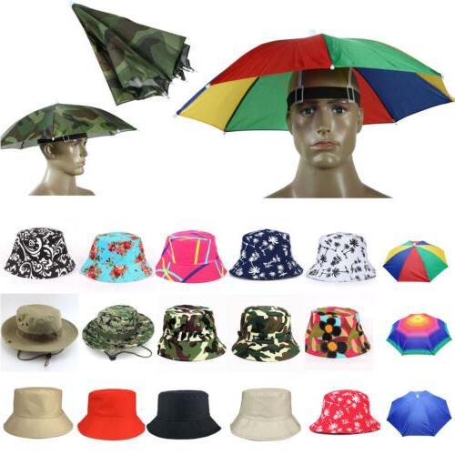 mens womens fishing bucket hats foldable solid