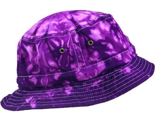 bucket hats youth spider purple