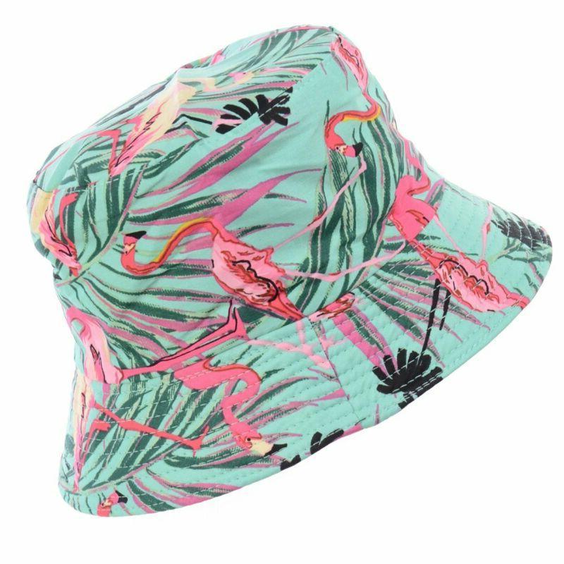Byos Black Printed Bucket Sun Hat, Patterns