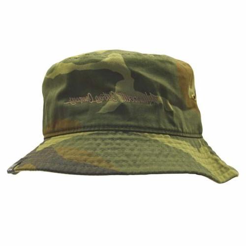 camo bucket hat shade uv blocker fishing