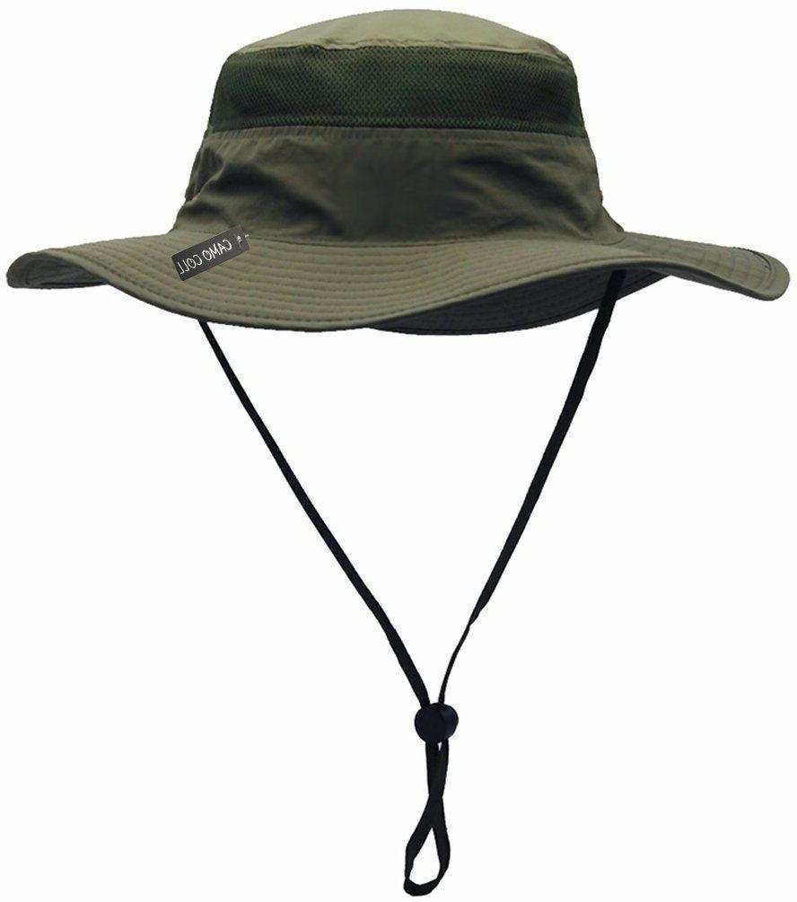 Camo Coll Outdoor Cap Bucket Mesh Boonie