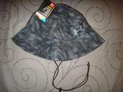 UNDER ARMOUR CAMO HUNTING ARMOUR VENT WARRIOR BUCKET HAT ONE