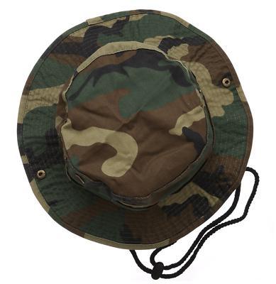 Camouflage Bucket Hat Hunting Fishing Cap