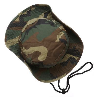 Camouflage Bucket Hat Hunting Fishing Safari Sun Cap Summer
