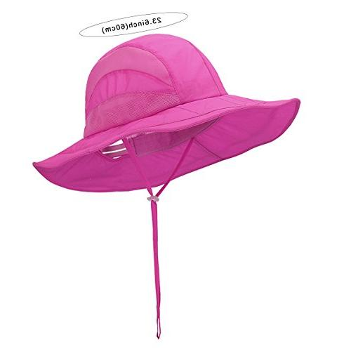 Panegy Hat Summer Outdoor UV Protection Mesh Bucket Quick Dry