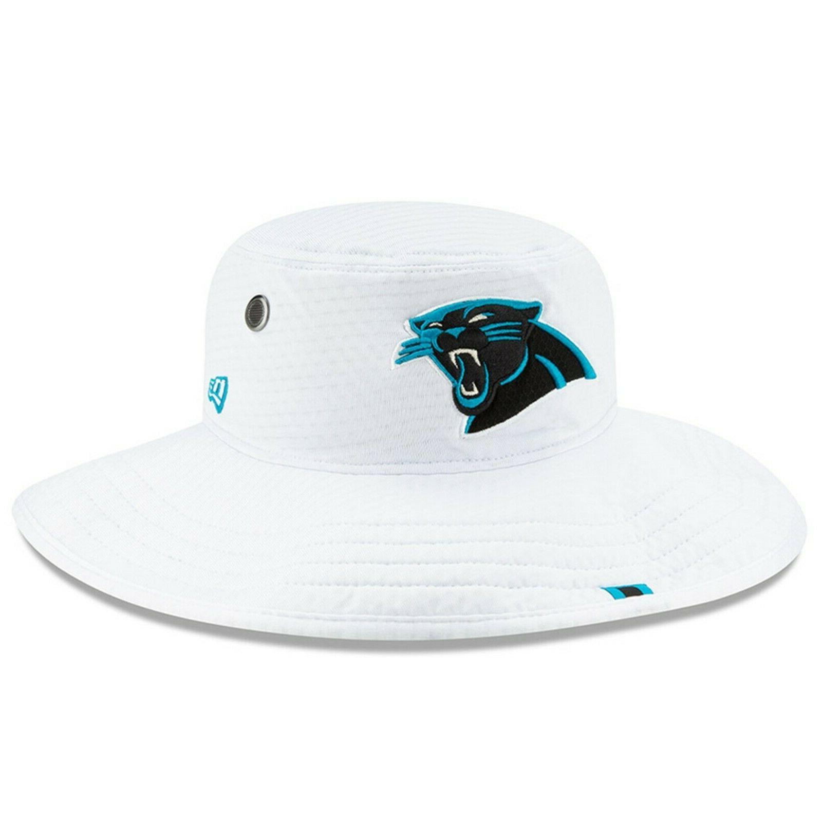 Carolina Panthers White Bucket Hat 2019 -