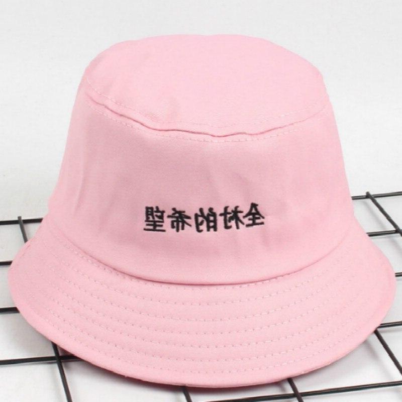 Casual Embroidery <font><b>Bucket</b></font> Outdoor Summer <font><b>Hat</b></font> Women Panama