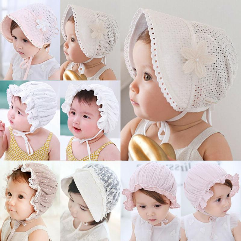 Children Toddler Baby Summer Hats Bonnet Hat Beach Cap