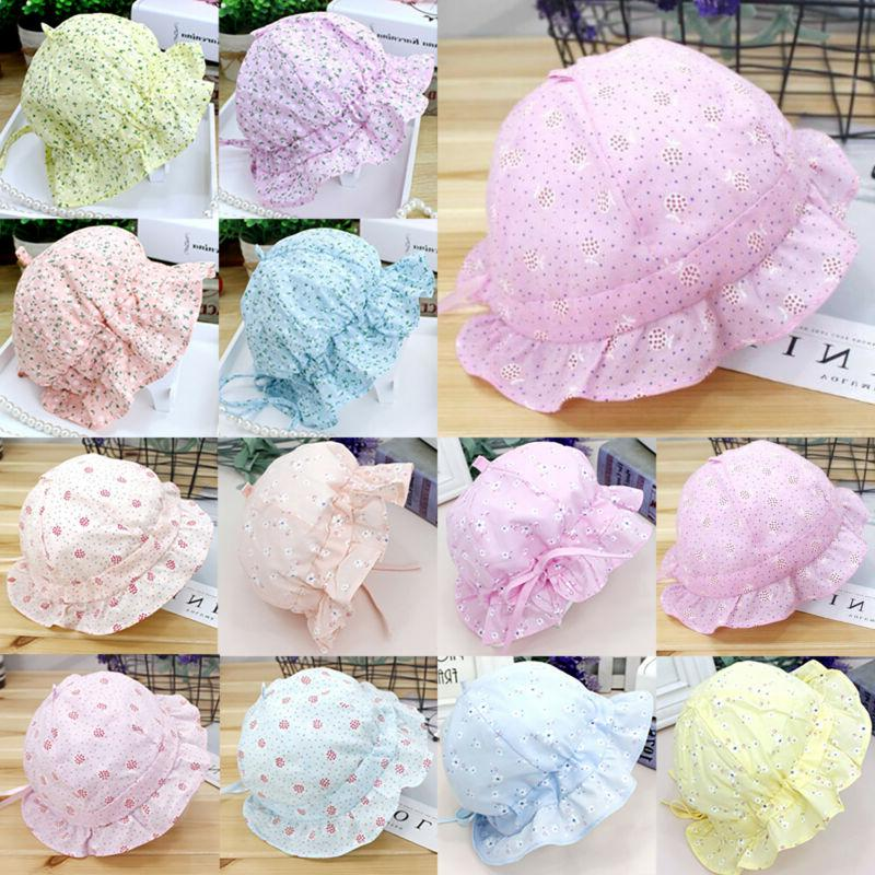 Children Toddler Summer Hats Bonnet Bucket Hat Cap