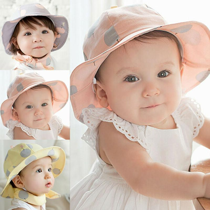 Children Toddler Summer Hats Hat Cap
