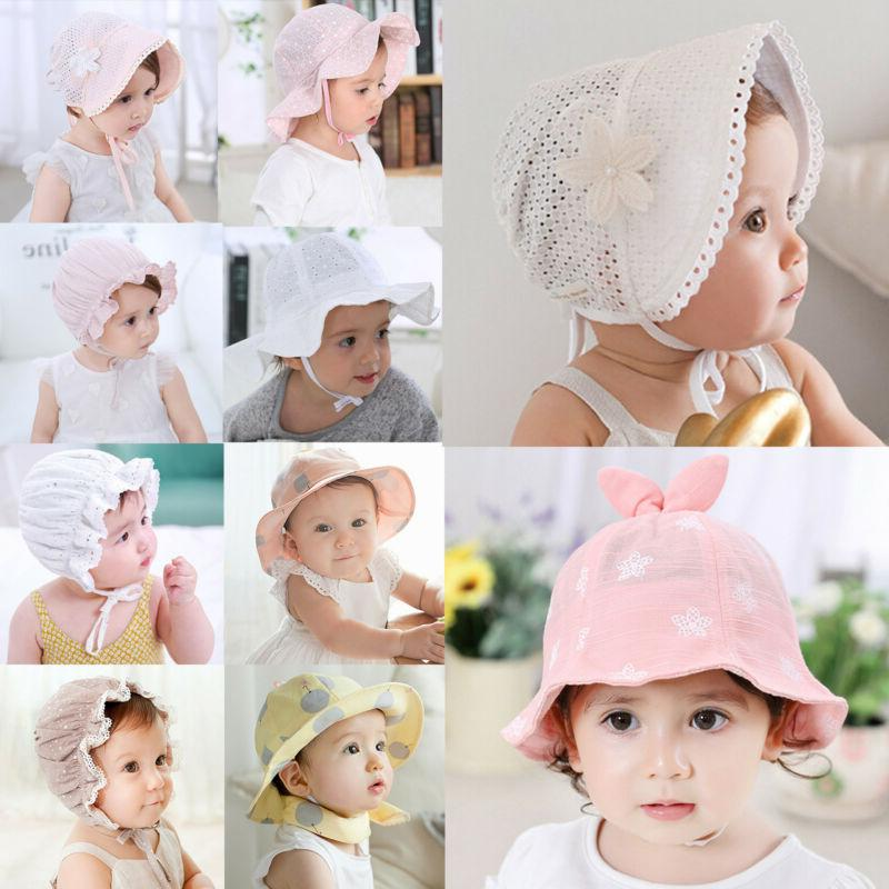 Children Toddler Summer Bucket Hat Outdoor Beach Cap