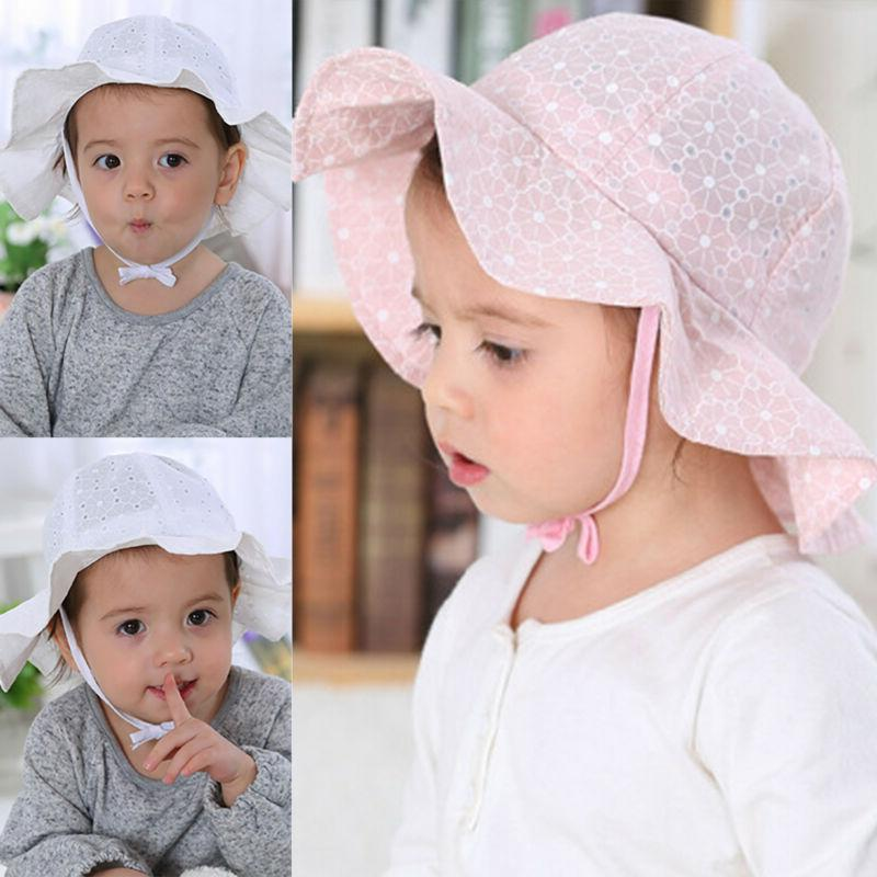 Children Toddler Baby Summer Hats Bonnet Hat Outdoor Cap