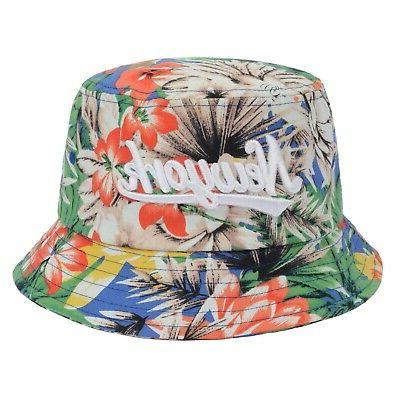 city trendy bucket hat multicolored large new