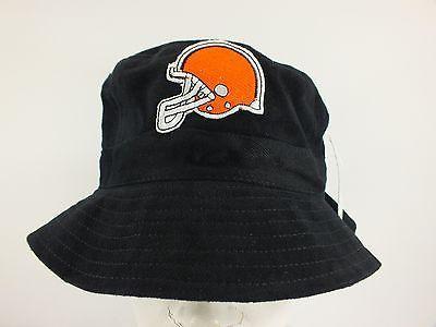 cleveland browns nfl black fishing bucket hat