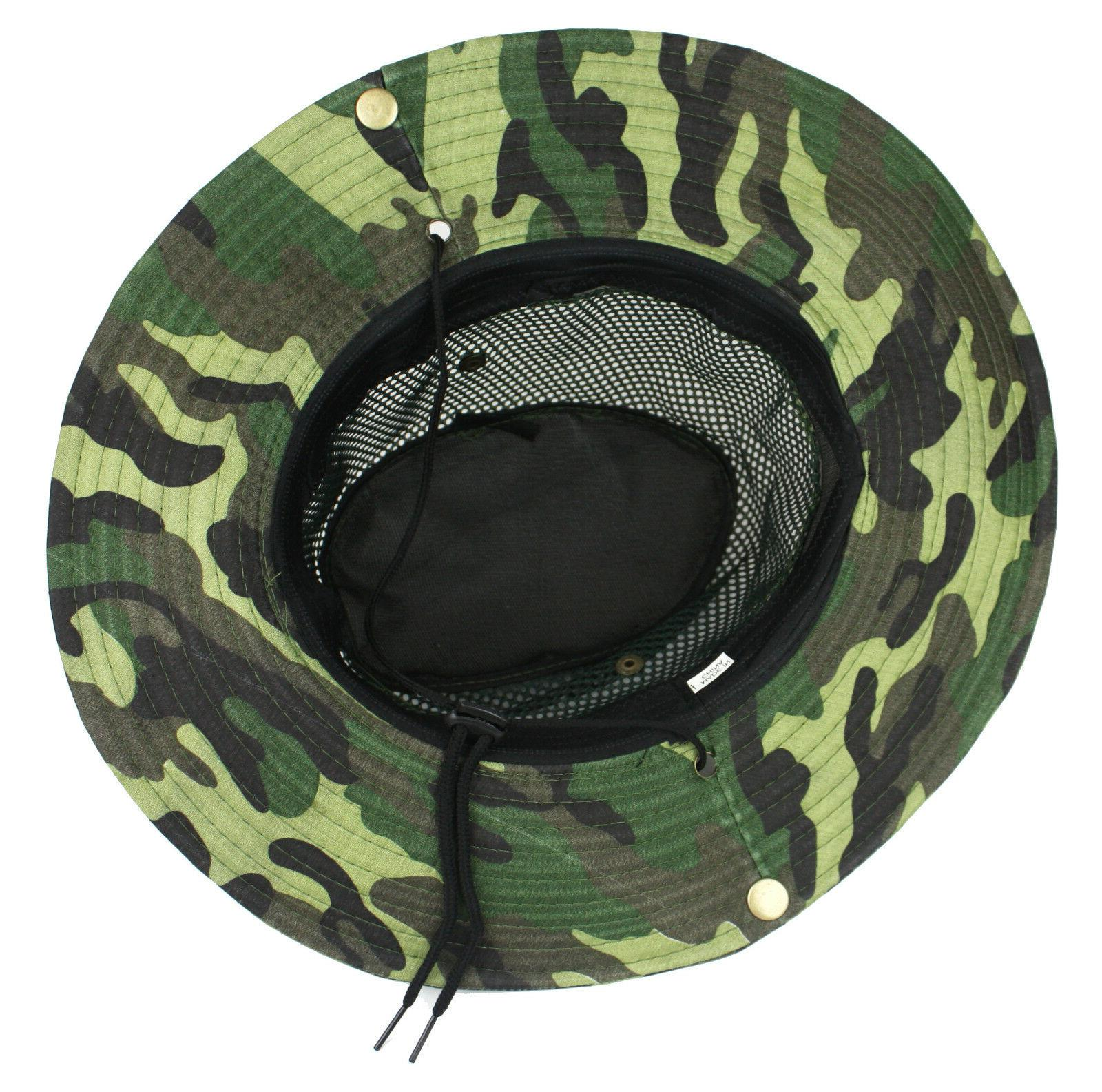 Cool Brim Boonie Bucket Hunting Fishing Hiking
