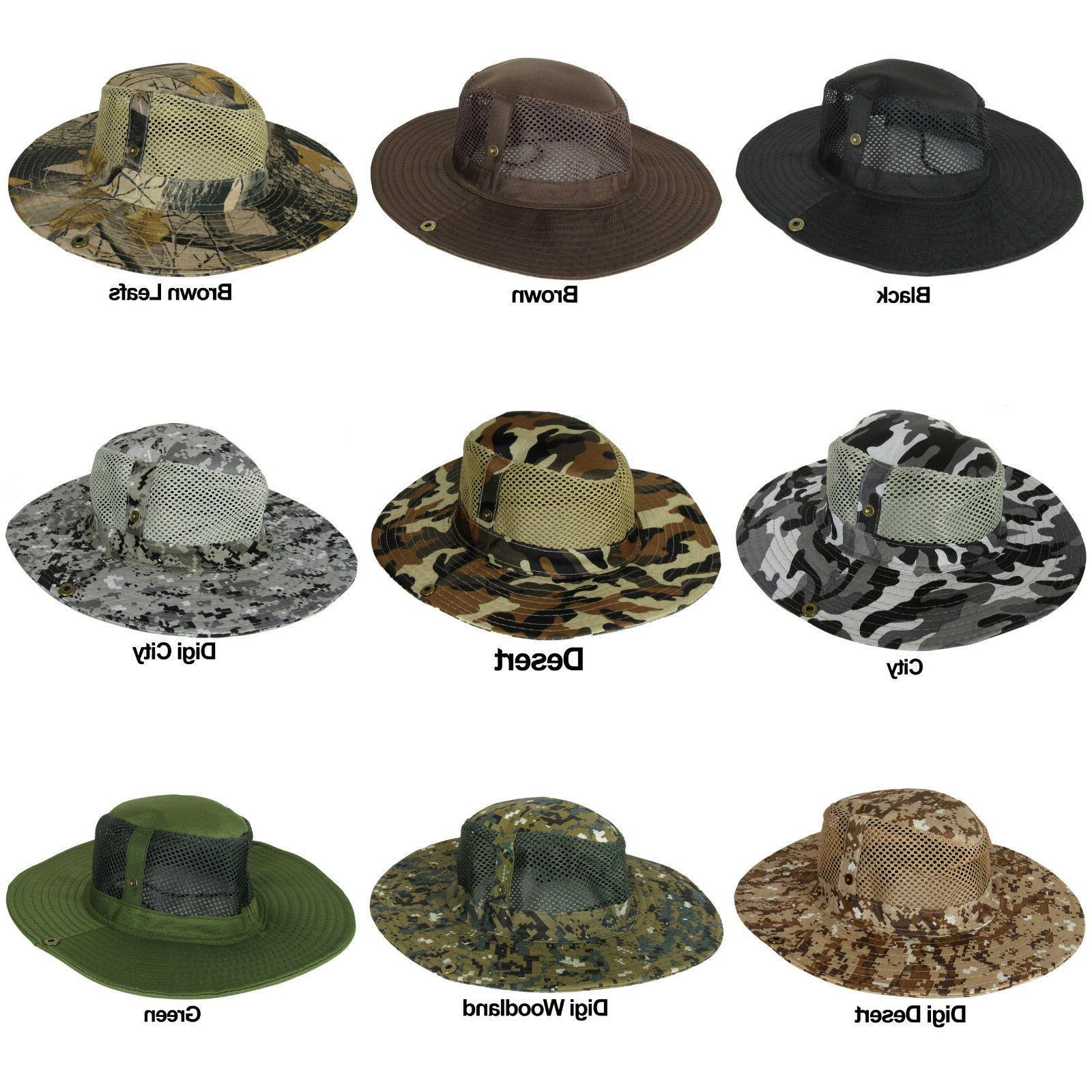 Cool Brim Boonie Bucket Hat Military Hunting