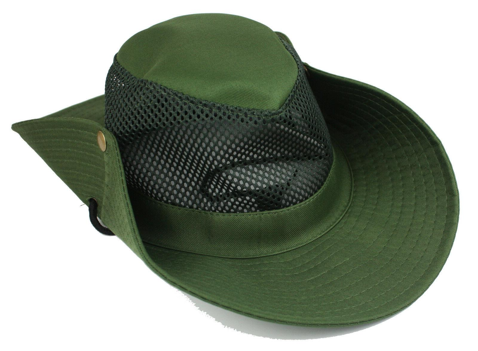 Cool Brim Solid Boonie Hunting Hiking Outdoor