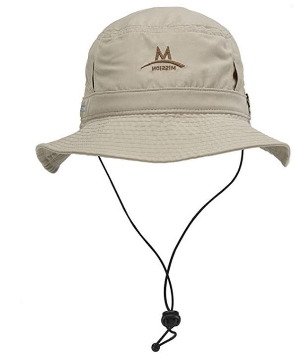 cooling bucket hat beige
