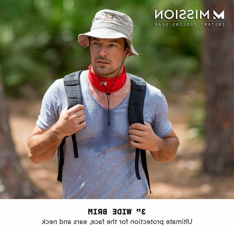"Mission Bucket Hat For UPF 50 Sun 3"""