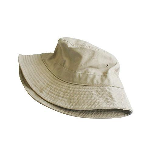 ChoKoLids Cotton Bucket   Summer Hat Fishing   Colors